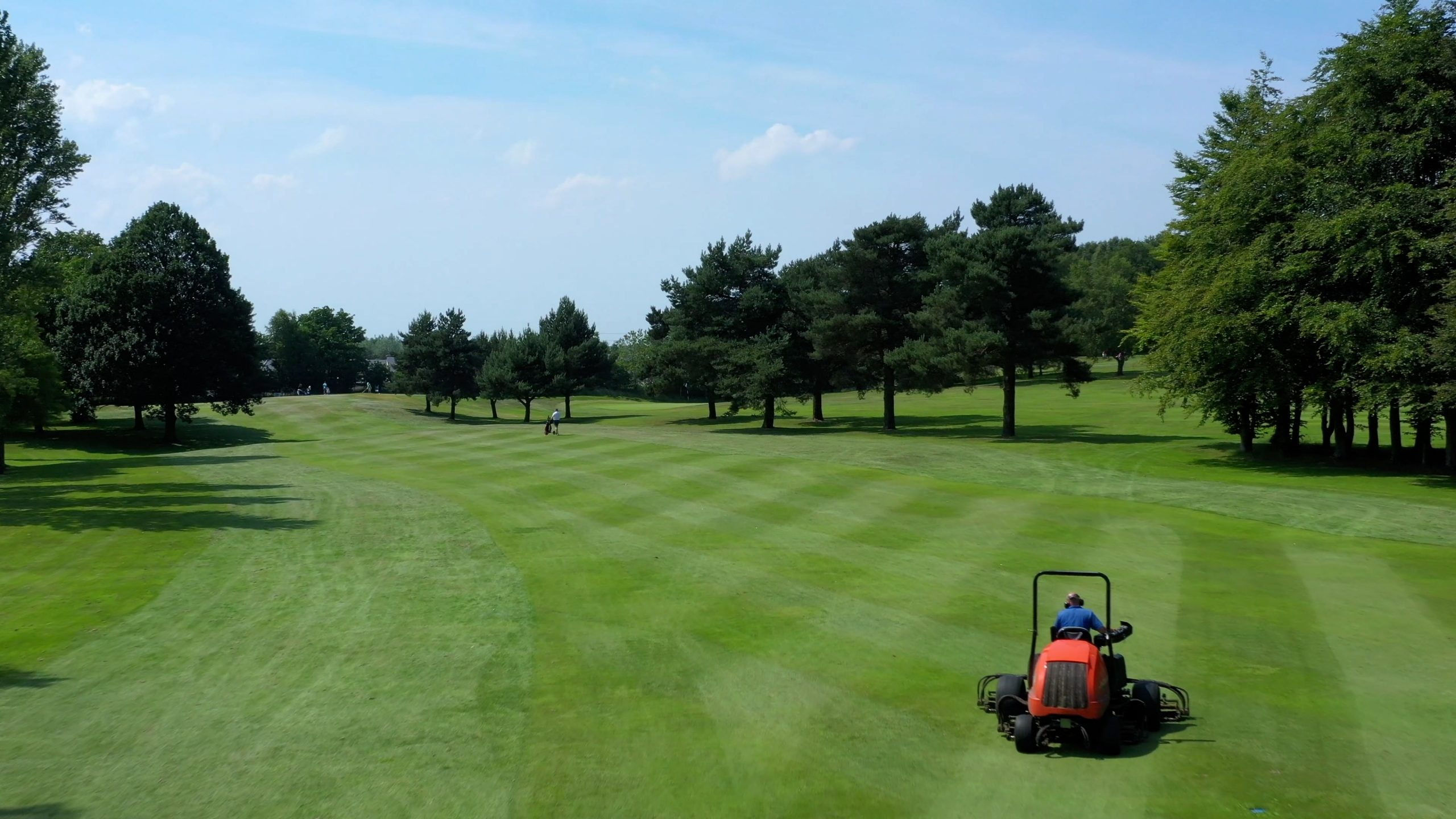 the course being cut