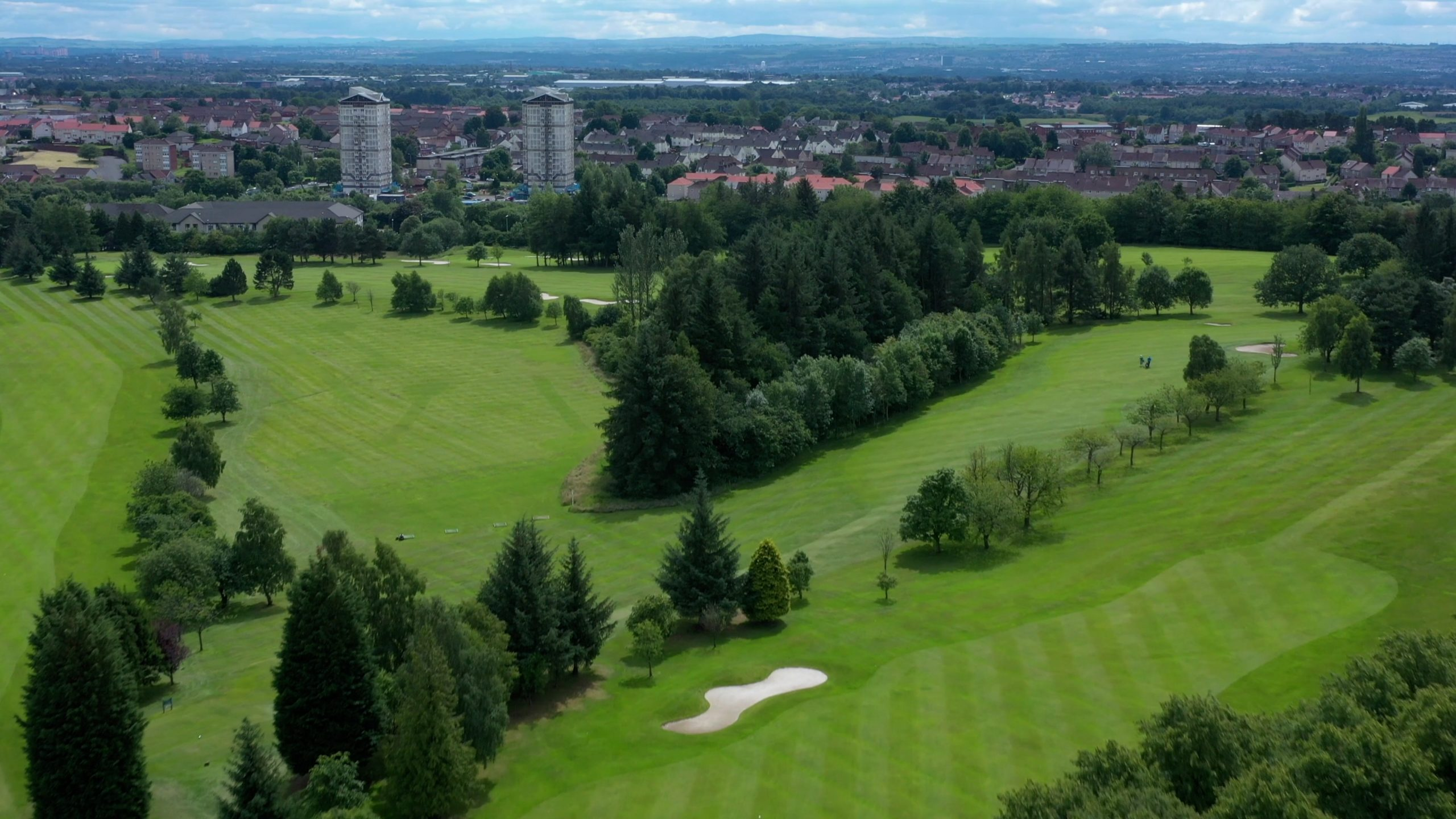 the course next to coatbrdige